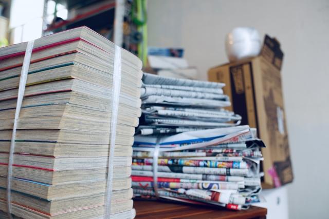 一般古紙の回収